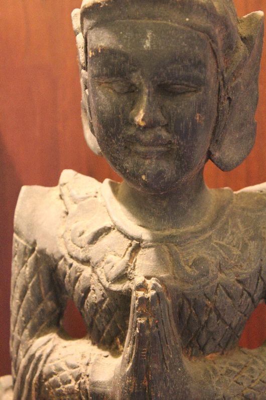 Statue in Saeng Kaeo museum at Wat Phra Kaew