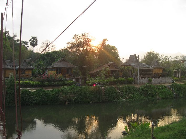 We stayed a few nights next to the river in Pai, a beautiful location