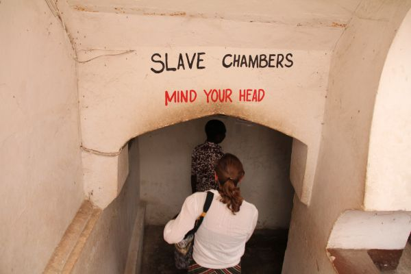 Entering the slave chambers