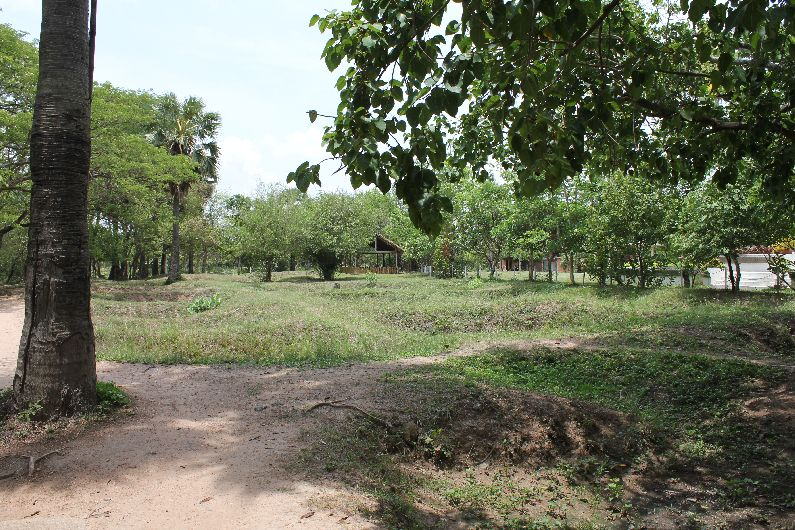 The pits of the killing fields, outside Phnom Penh