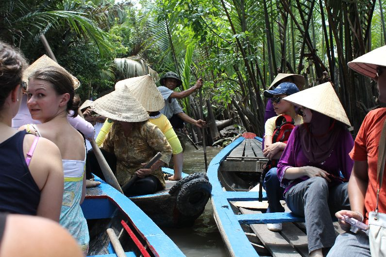 Saigon Side Shows – Cu Chi Tunnels and Mekong Delta