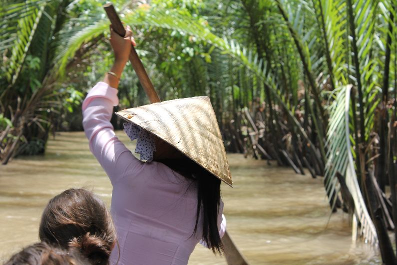The Mekong Delta, near Ho Chi Minh