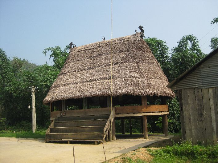 One of the communial  central buildings of a small village