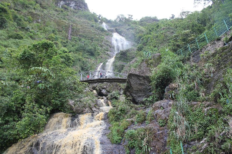 The Silver Waterfall, near Sapa