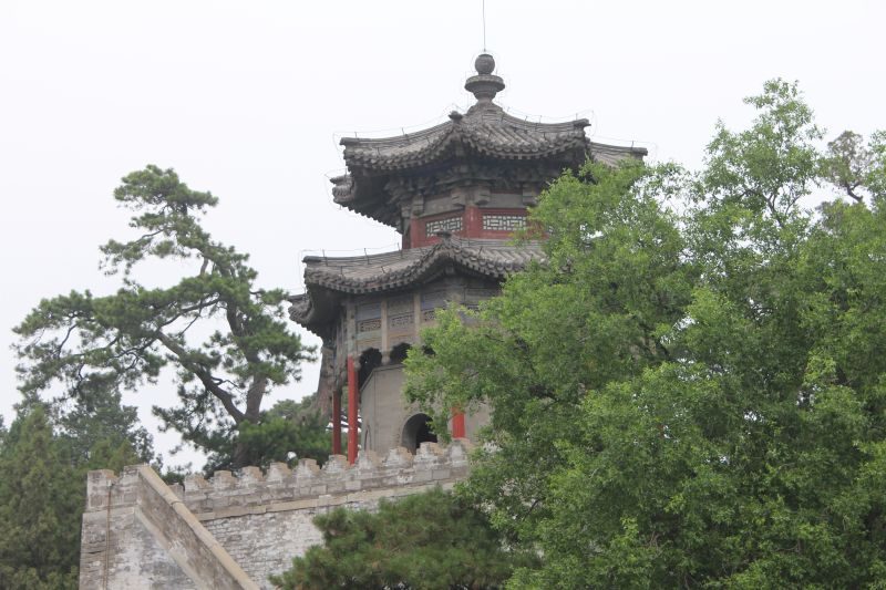 One of the temples within the pretty grounds of the Summer Palace, Beijing