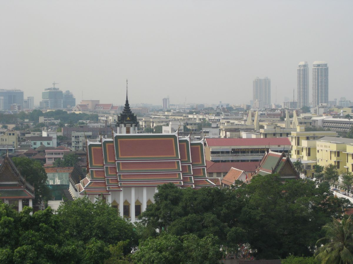 Bangkok panoramic skyline