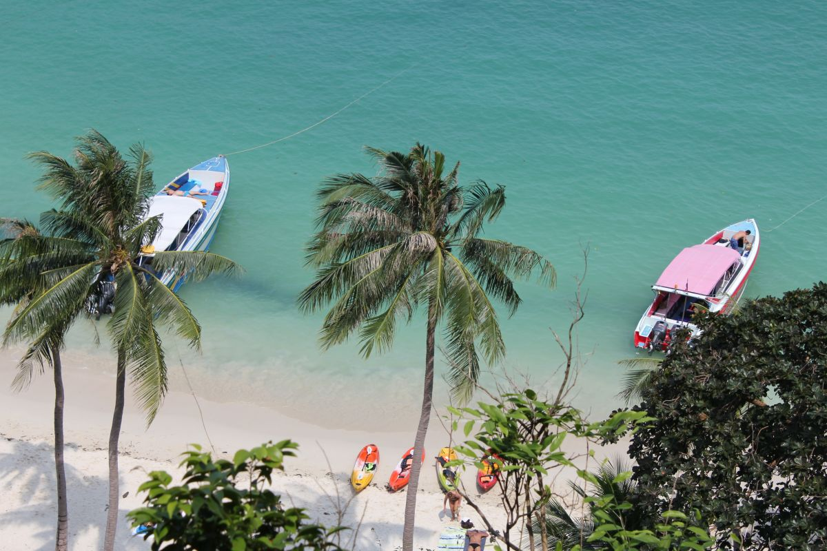 Beach at Ang Thong Marine Park