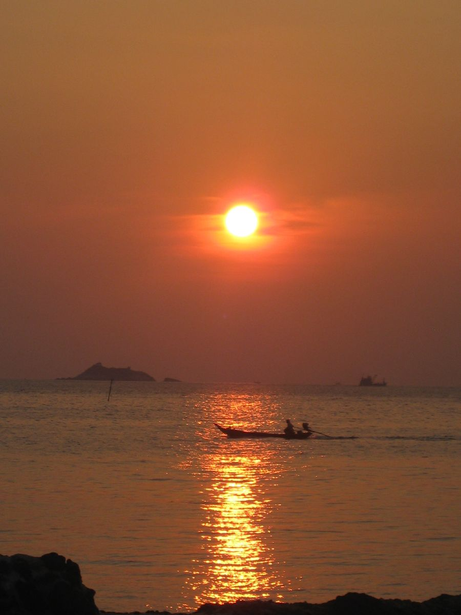 Sunset at Loyfa Resort Koh Phangan
