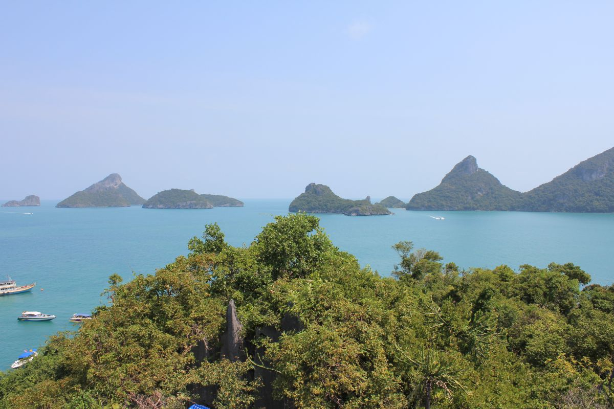 View of Islands at Ang Thong Marine Park