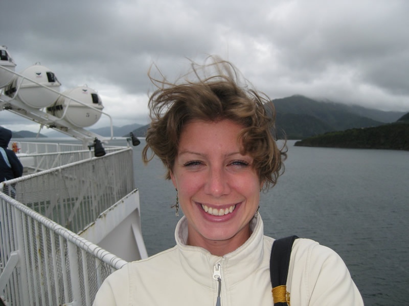 Any fledgling style that existed is soon blown away on the blustery Picton to Wellington ferry, New Zealand.
