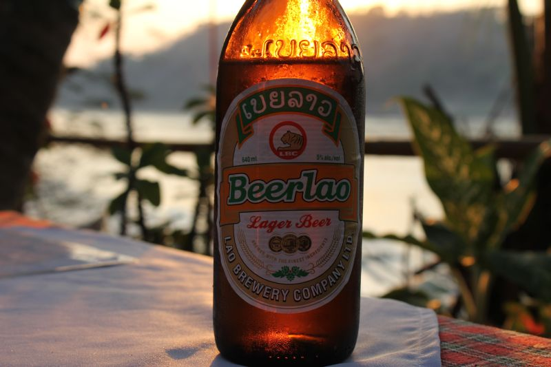 beer lao Laos from North to South