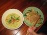 Thai Green curry & Pad Thai