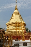 Stupa at Wat Phrathat Doi Suthep